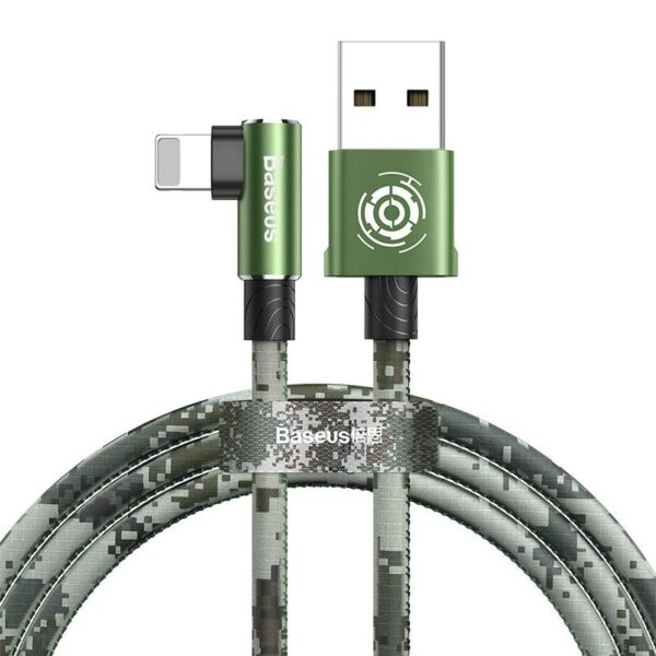 Baseus Camouflage 90 Degree USB Gaming Cable For iPhone
