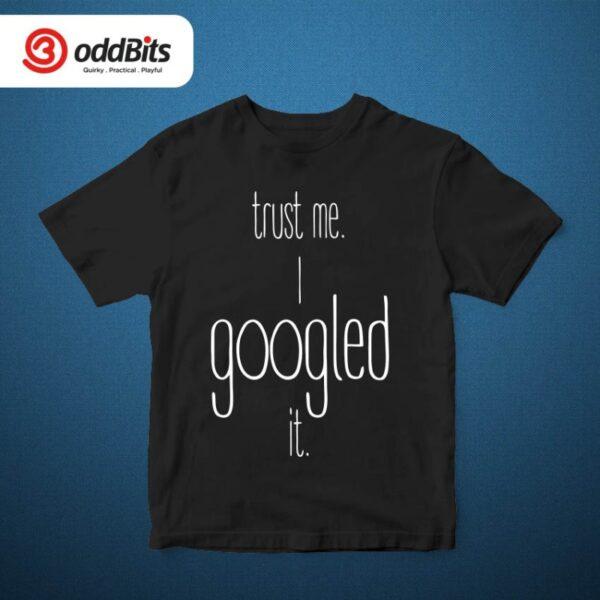 Googled It Tshirt Black