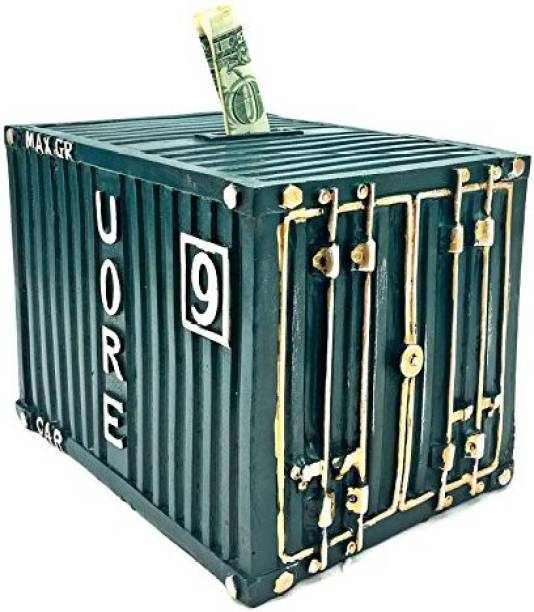 Shipping Container Coin Bank