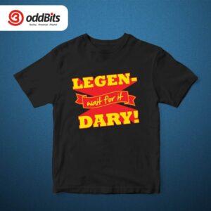 HIMYM Legendary Tshirt Black
