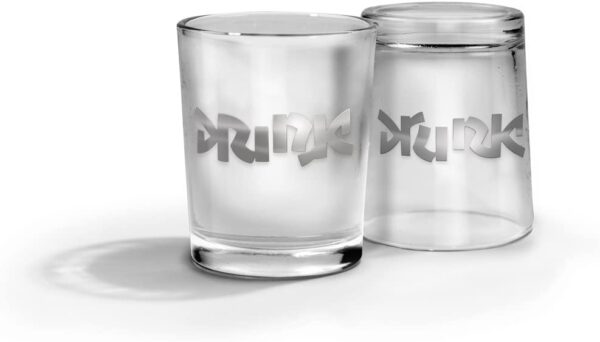 Fred And Friends Bottoms Up Shot Glasses Set Of 2