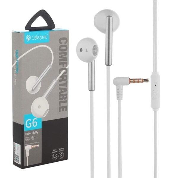 Celebrat G6 High-Fidelity Stereo Earphones