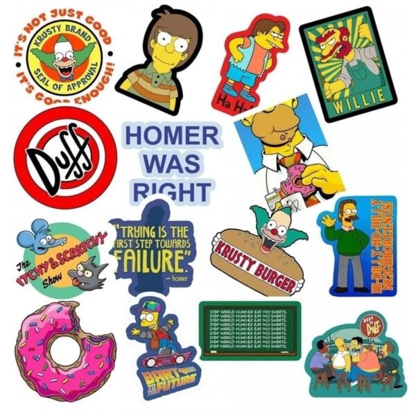 The Simpsons Value Stickers Pack