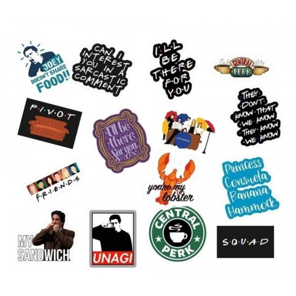 Friends Value Stickers Pack