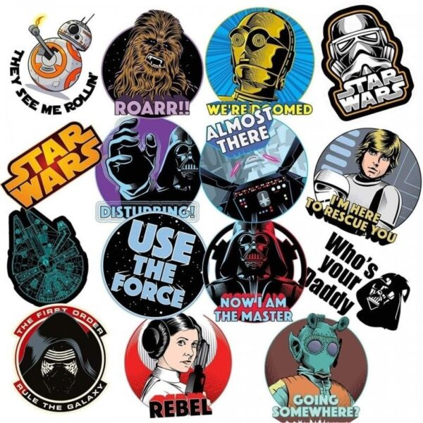 Star Wars Value Stickers Pack