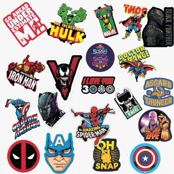 Marvel Value Stickers Pack