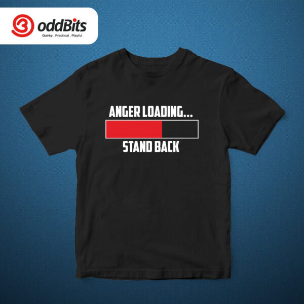 Anger Loading Graphic T-shirt