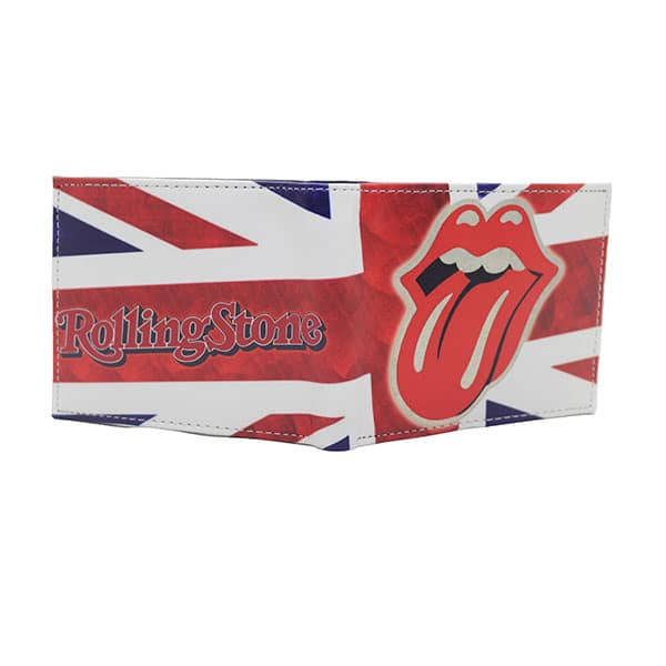 Rolling Stones Leather Wallet