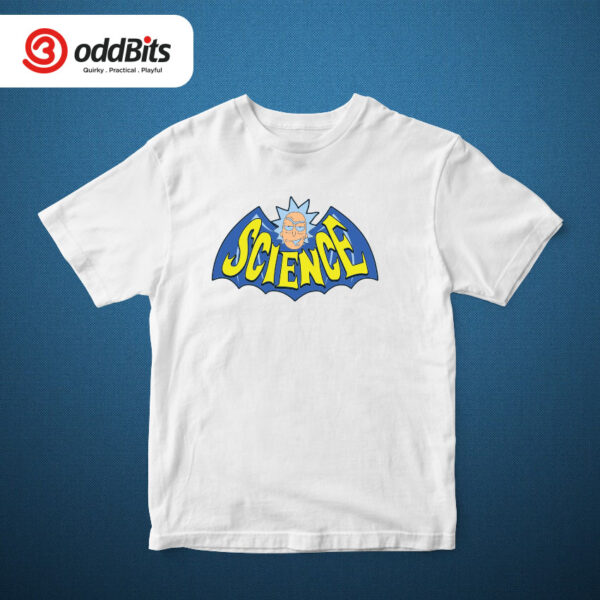 Rick And Morty Science Tshirt White