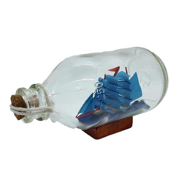 Decorative Craft Ship In A Bottle - 250ml