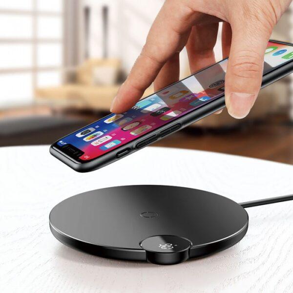Baseus WXSX-01 Digital LED Display Wireless Charger