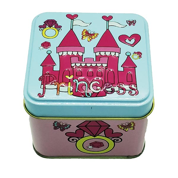 Cubic Metal Box Princess