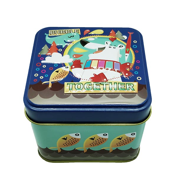 Cubic Tin Box Together