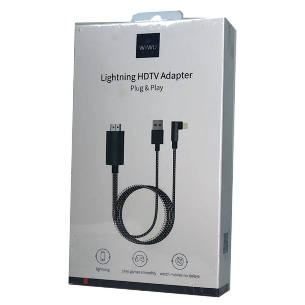 WiWU X7 IPhone HDMI HD 1080P 4K HDTV Video Cable Adapter
