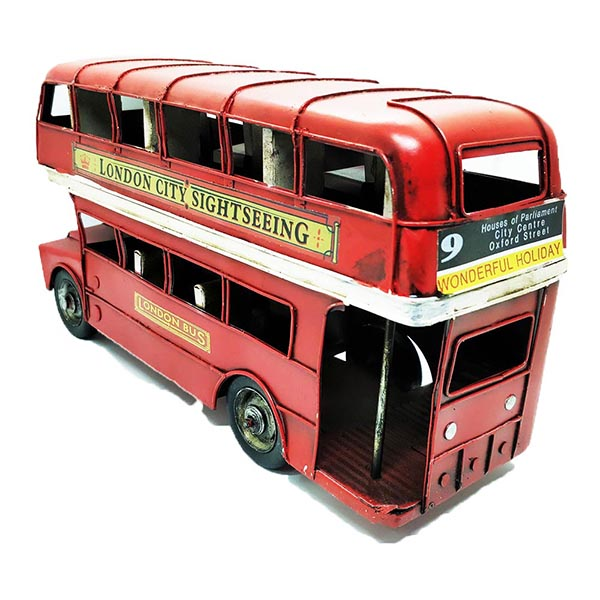 Vintage London Sight Seeing Double Decker Bus