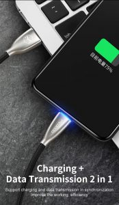 MCDODO CA-570 1.8M Lightning Charging Cable LED Light for iPhone