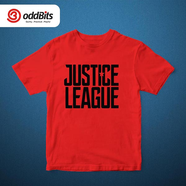 Justice League Tshirt Red