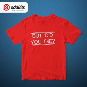 The Hangover Tshirt Red