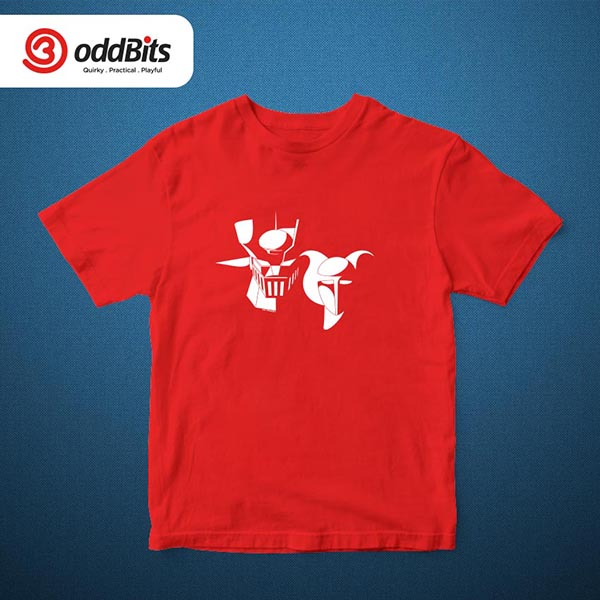 Mazinger 1 Graphic Tshirt Red