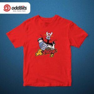 Mazinger 2 Graphic Tshirt Red
