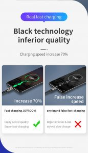 Joyroom S-M379 Type C 5.5A fast charging data cable