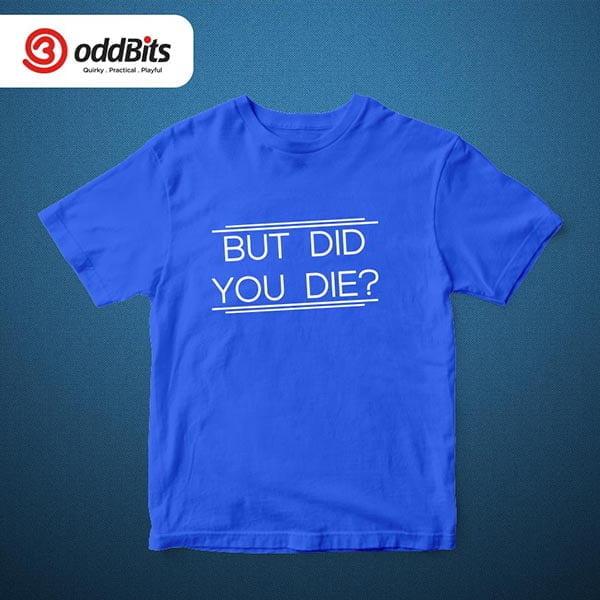 The Hangover Tshirt Blue