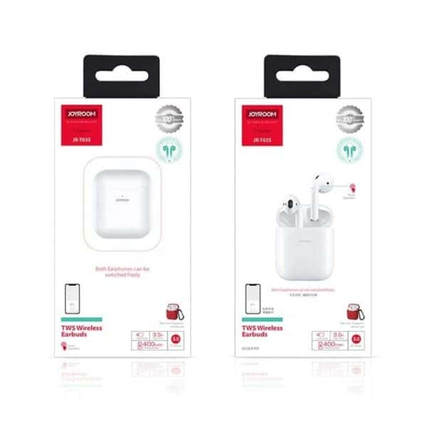 JOYROOM JR-T03S TWS Wireless Earbuds - White