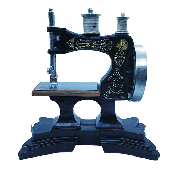 Sewing Machine Home Resin Craft Toy