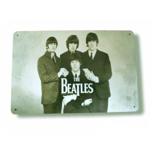 Vintage Tin Signs The Beatles
