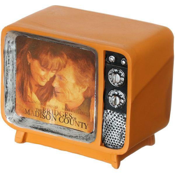 Television Resin Craft Model Coin Bank