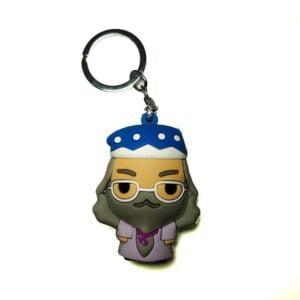 Harry Potter Dumbledore 3D Rubber Keychain