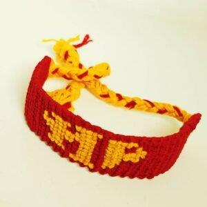 Harry Potter Hand Knitted Wool Bracelet (13)