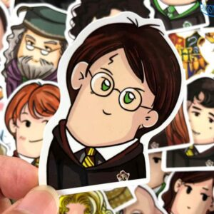 Harry Potter Heads Stickers Pack