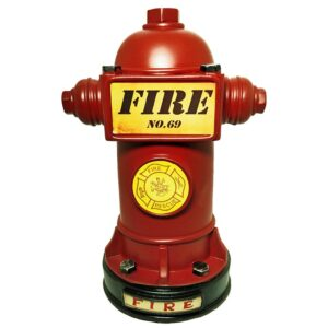 Resin Fire Hydrant