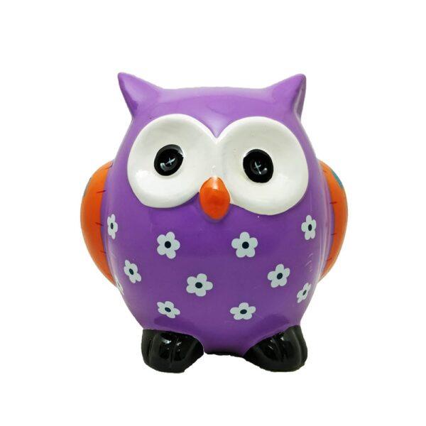 Cute Owl Coin Bank
