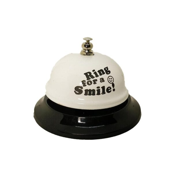 All-Metal Call Bell: Smile