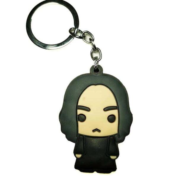 Snape Flat Rubber Key Chain