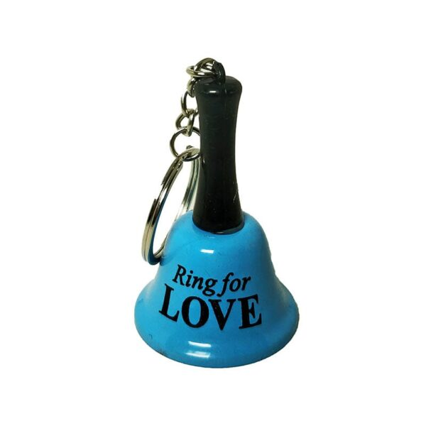 Metal Call Bell Keychain