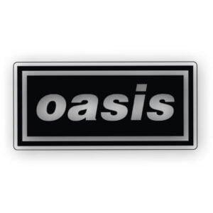 Oasis Vinyl Sticker