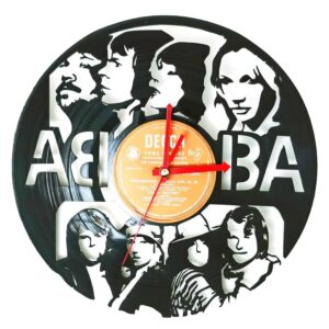 Abba Vinyl Record Clock