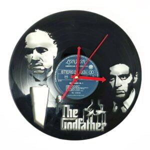 The Godfather Vinyl Record Clock