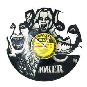 Suicide Squad Joker Vinyl Record Clock