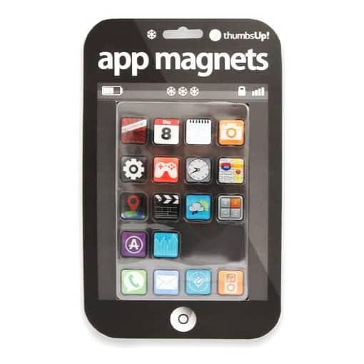 Thumbs Up! App Magnets, Set of 18