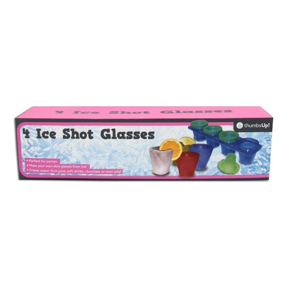 Thumbs Up! Ice Shot Glasses (4 Pack)