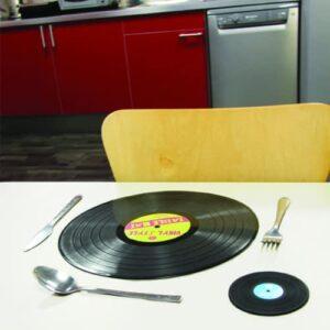 Thumbs Up! Vinyl-Style Table Mat