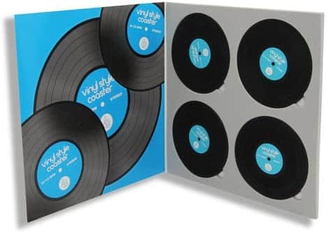 Thumbs up! Vinyl-Style Silicone Coasters