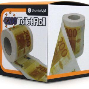 200 Euro Print Toilet Paper