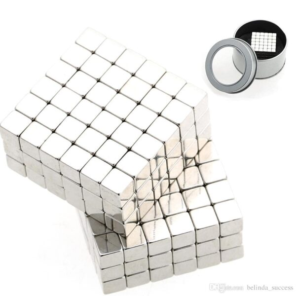 Buckycubes 216 pcs Magnetic Set Nickel cube magnets
