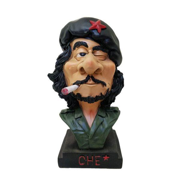 Che Guevara Bust Resin Statue / Figurine