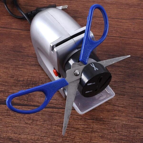 220V 18W Electric Knife Sharpener Made With Whetstone And ABS Material Suitable For Kitchen Knives